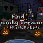 Find Spooky Treasure Witch Relief