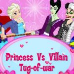 Princess vs Villains Tug of War